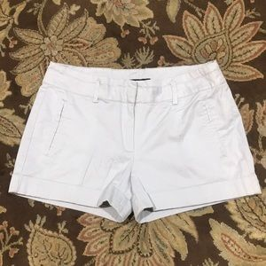 Zara Basic Khaki Shorts